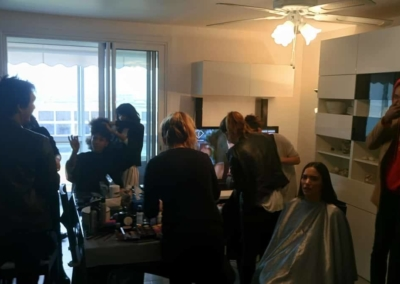 Gang de filles backstage 10