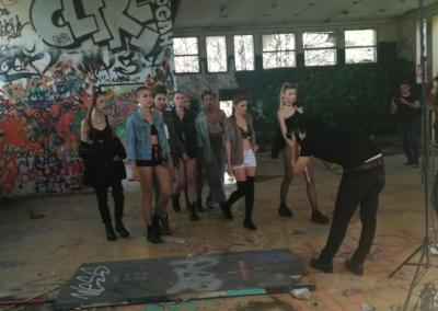 Gang de filles backstage 7